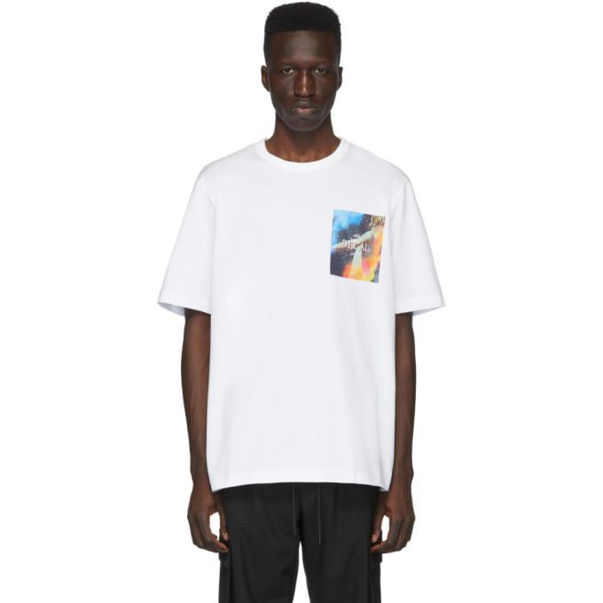 Juun.J T-shirt blanc Decal