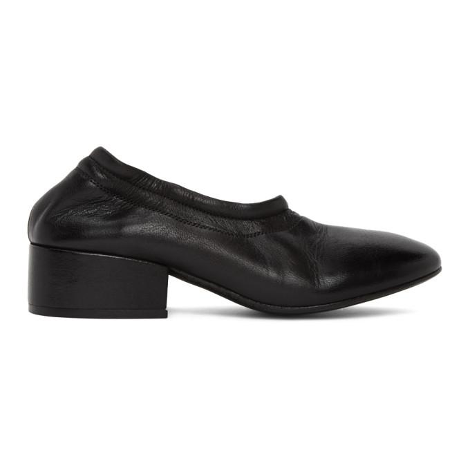 Buy Marsell Black Cubo Decollete Elastico Heels online