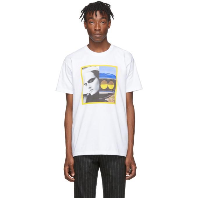 Byredo White Craig McDean Edition Model T-Shirt
