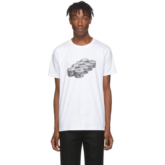 Byredo T-shirt blanc Engine edition Craig McDean