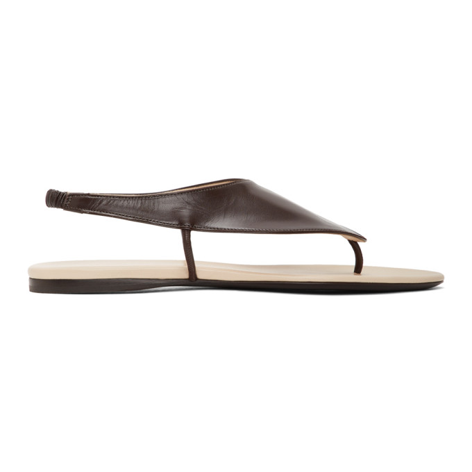 Buy The Row Brown Ravello Sandals online