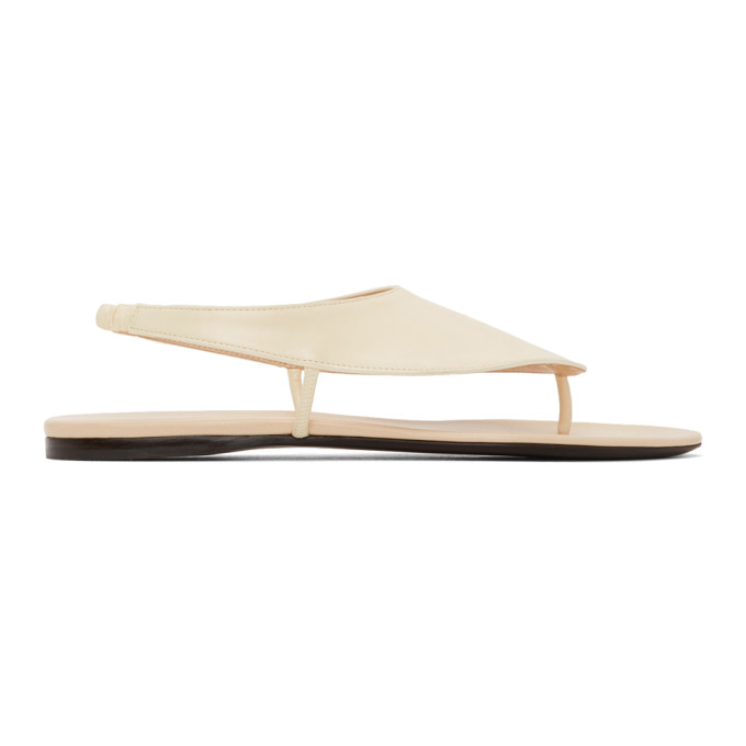 Buy The Row Off-White Ravello Sandals online