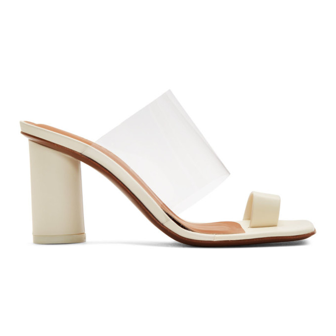Buy NEOUS Off-White Chost 80 Heeled Sandals online