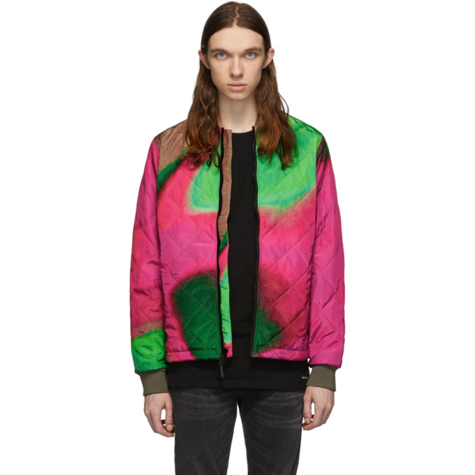 The Very Warm Multicolor Artist Bomber Jacket