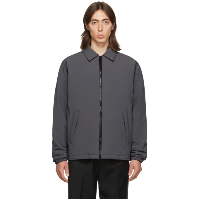 The Very Warm Ssense Exclusive Grey Fly Weight Coach Jacket