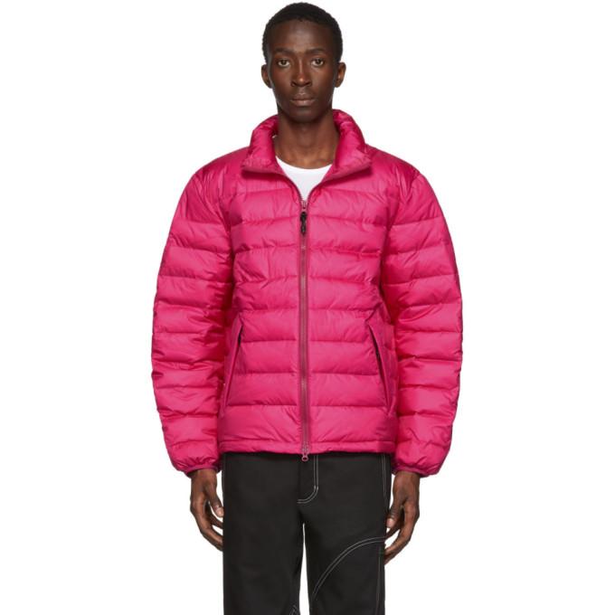 The Very Warm Pink Liteloft Puffer Jacket In Fuschia