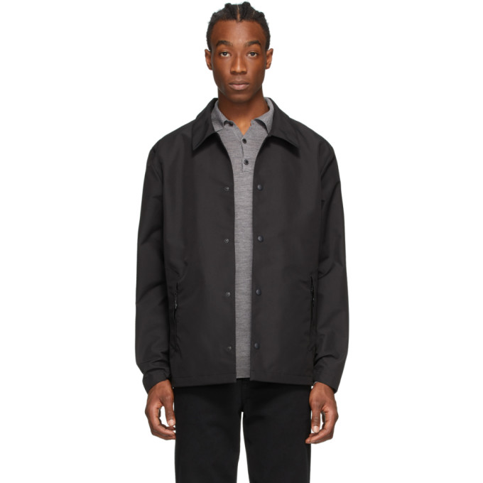 The Very Warm Black Seam Sealed Jacket