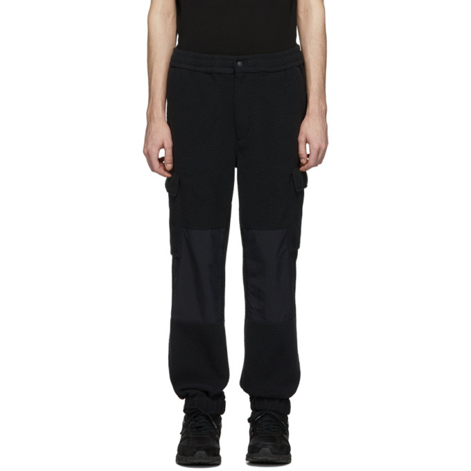 The Very Warm Black Fleece Cargo Pants