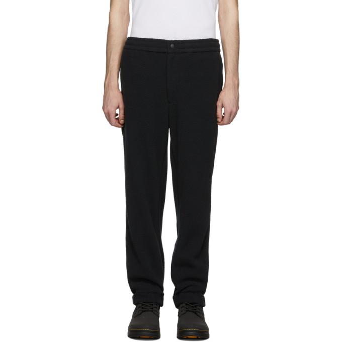 The Very Warm Black Fleece Lounge Pants