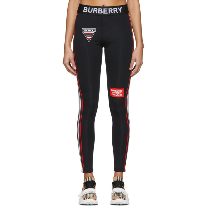 Burberry Pants BLACK BLIES LEGGINGS
