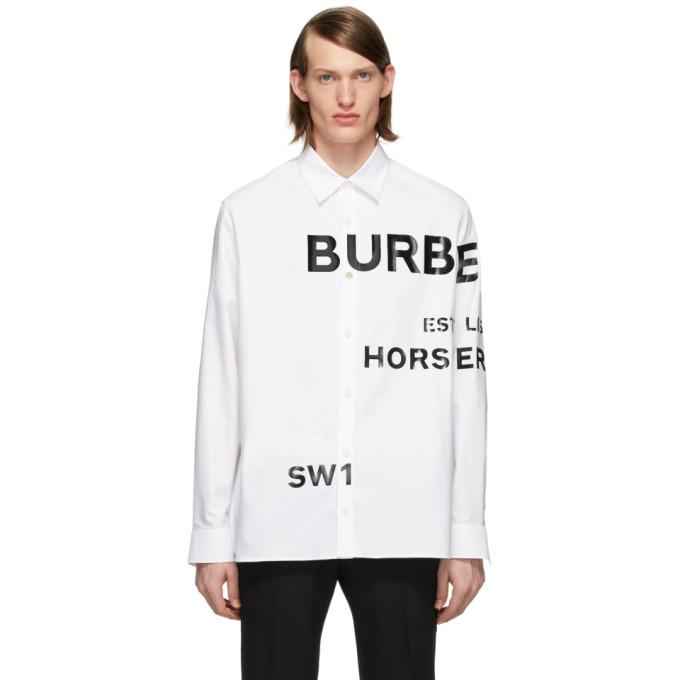 Burberry ホースフェリー シャツ
