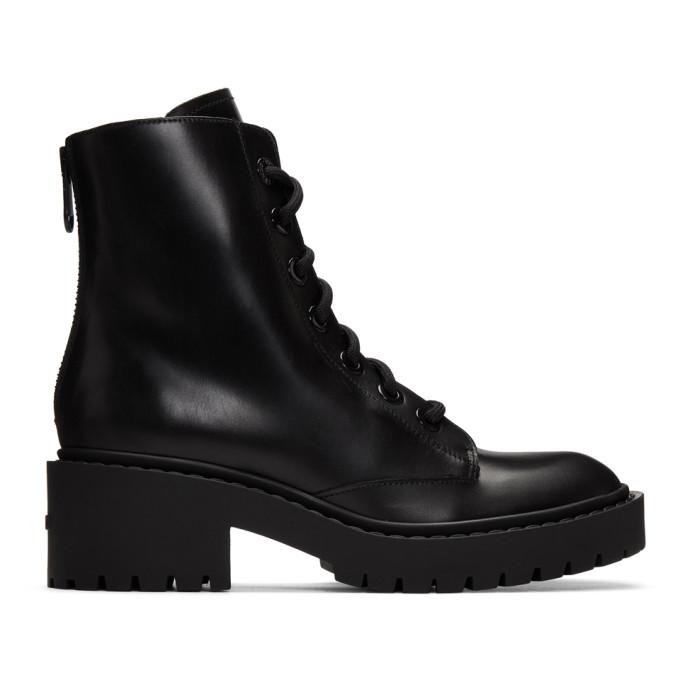 Buy Kenzo Black Pike Boots online