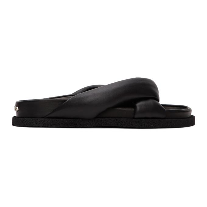 Buy Kenzo Black Komfy Thong Flat Sandals online