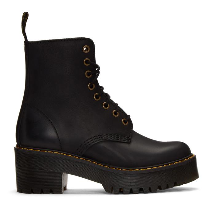 Buy Dr. Martens Black Shriver Hi Boots online