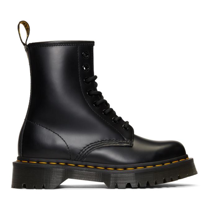 Buy Dr. Martens Black 1460 Bex Platform Boots online