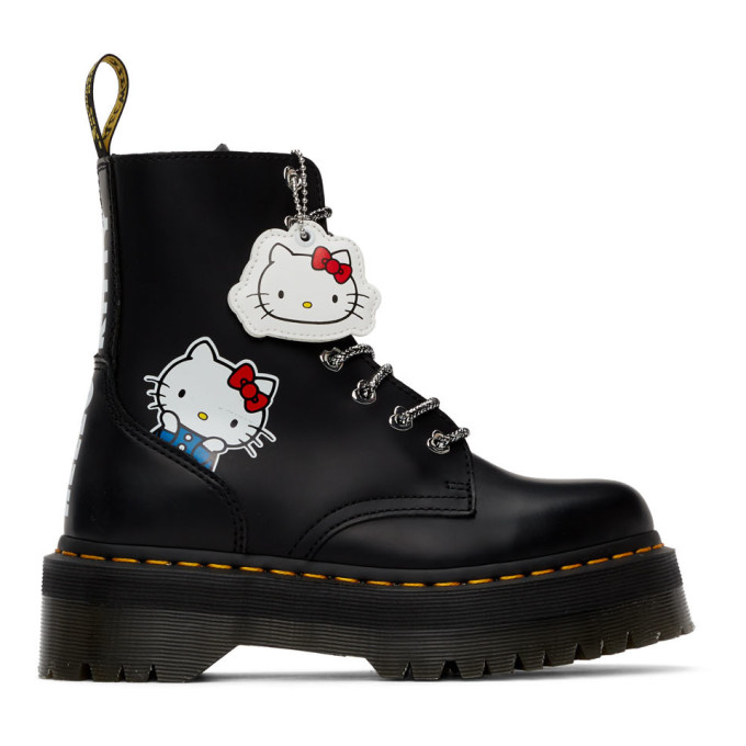 Buy Dr. Martens Black Hello Kitty Edition Jadon Boots online