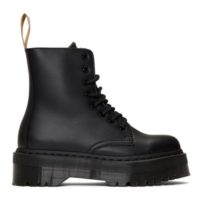 Buy Dr. Martens Black Vegan Jadon II Mono Boots online