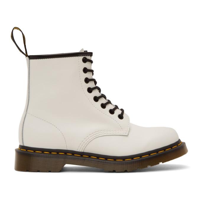 ホワイト 1460 ブーツ