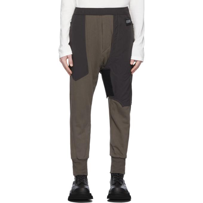 Julius Pantalon de survetement gris Contrast