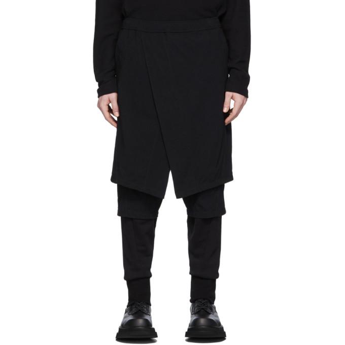 Julius Pantalon etage noir Contrast