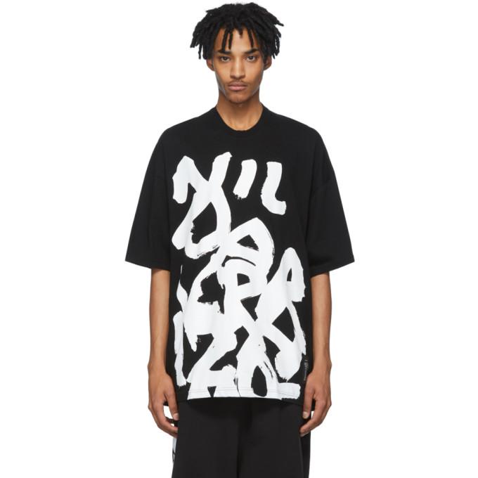 Julius T-shirt graphique noir