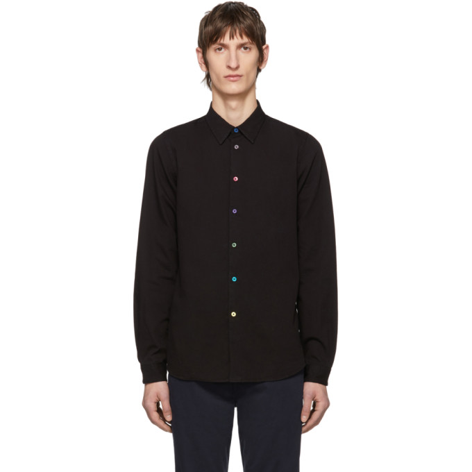 PS by Paul Smith Chemise noire Tailored Fit