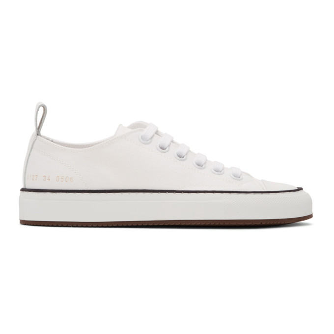 Common Projects Sneakers Gold Foil