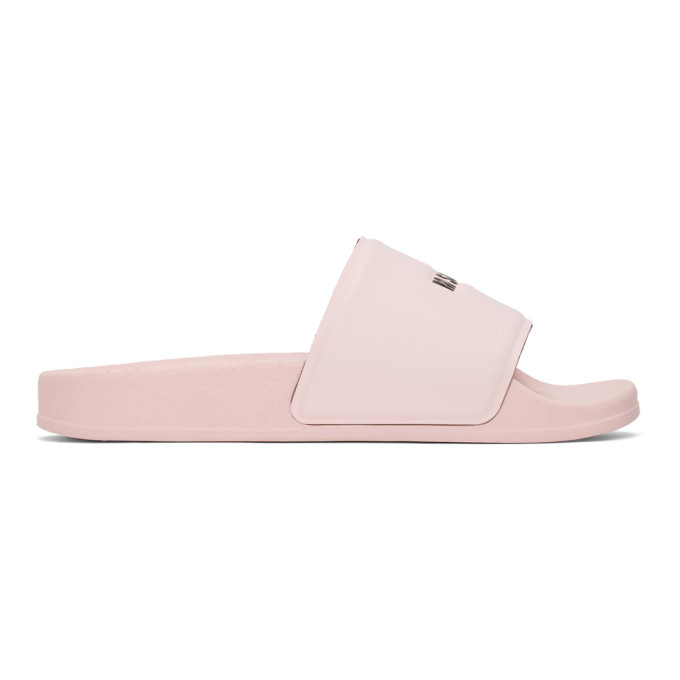Buy MSGM Pink Pool Slides online