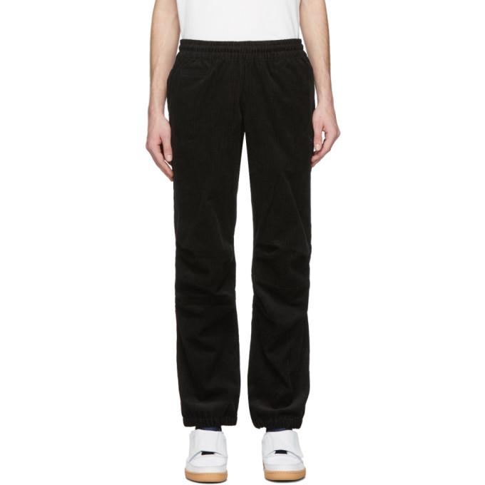 Nanamica Pantalon de survetement en velours cotele noir Vector edition Reebok