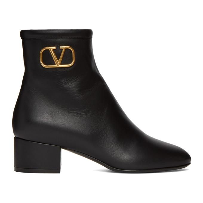 Buy Valentino Black Valentino Garavani VLogo Boots online