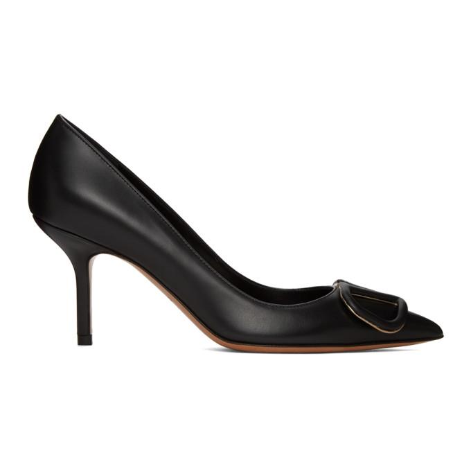 Buy Valentino Black Valentino Garavani VLogo 80 Heels online