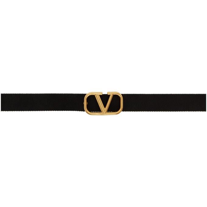 Valentino Valentino Garavani コレクション Vロゴ テープ ベルト
