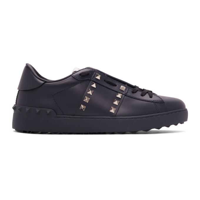 Valentino Garavani Black Sneakers In