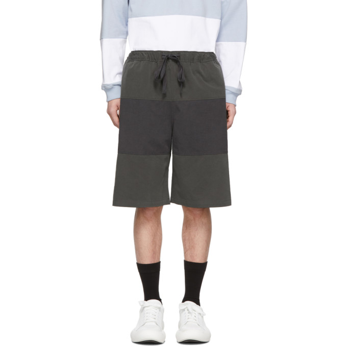 JW Anderson Short gris Rugby