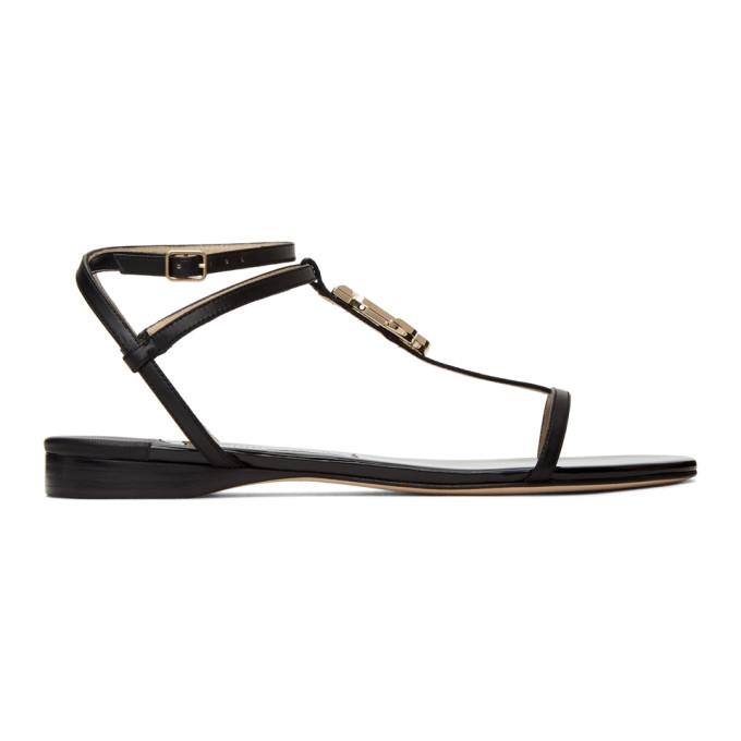 Buy Jimmy Choo Black Patent Alodie Sandals online