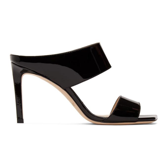 Buy Jimmy Choo Black Hira 85 Sandals online