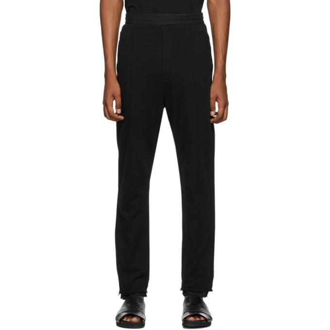 Haider Ackermann Pantalon de survetement noir Tailored