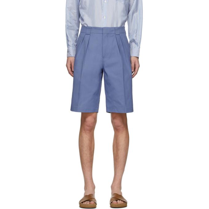 Jacquemus Blue 'le Short De Costume' Shorts