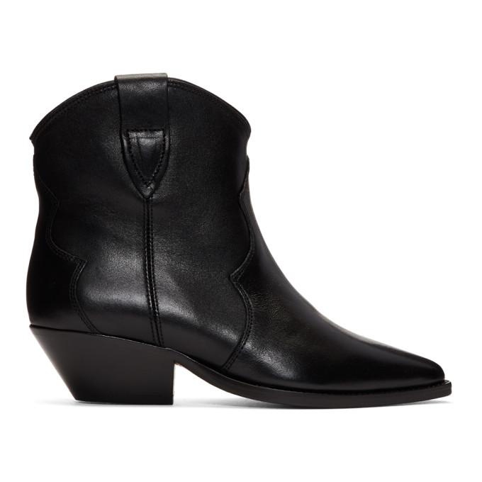 Buy Isabel Marant Black Dewina Boots online