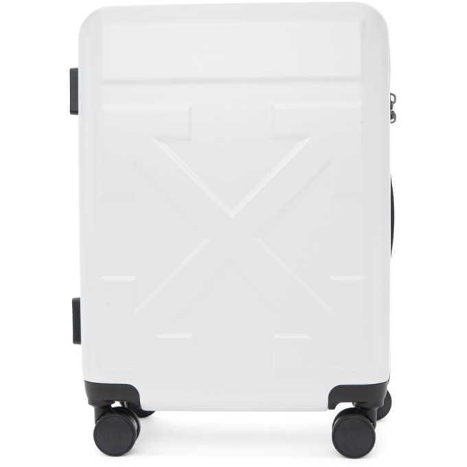 Off-White White Arrows Trolley Carry-On Suitcase thumbnail
