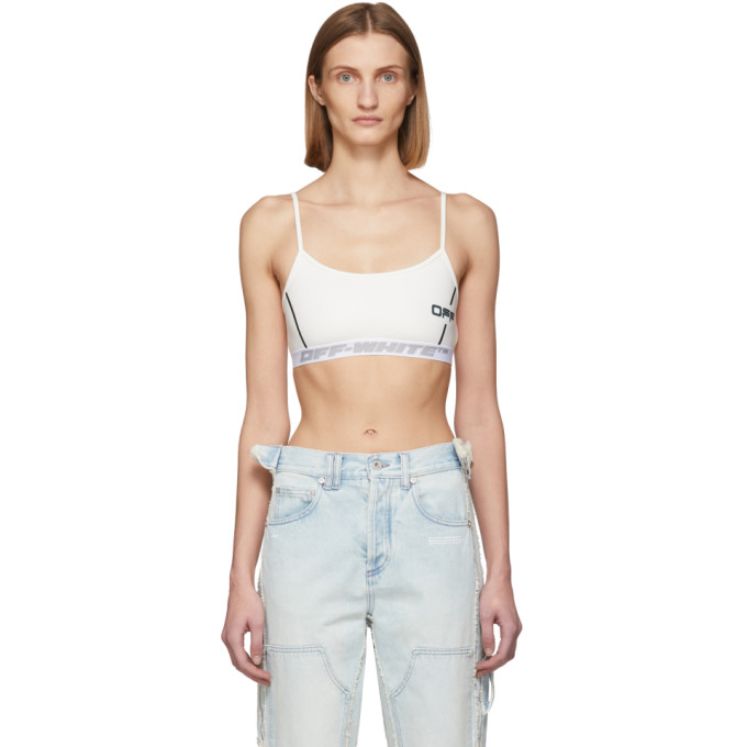 Off-white White Off Active Bra