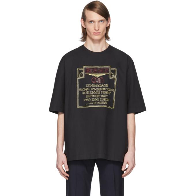 Lemaire T-shirt noir Big Hit edition Can
