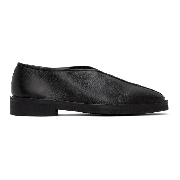 SSENSE Exclusive Black Leather Loafer