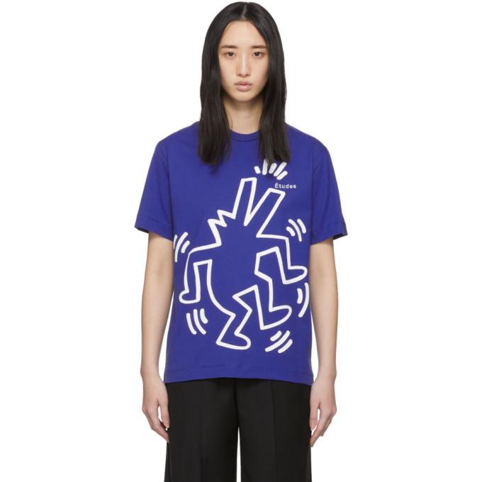Etudes Studio Etudes Blue Keith Haring Edition Wonder T-shirt