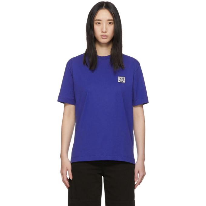 Etudes Studio Etudes Blue Keith Haring Edition Wonder Patch T-shirt