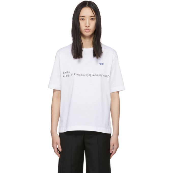 Etudes T-shirt blanc Unity Definition edition Wikipedia