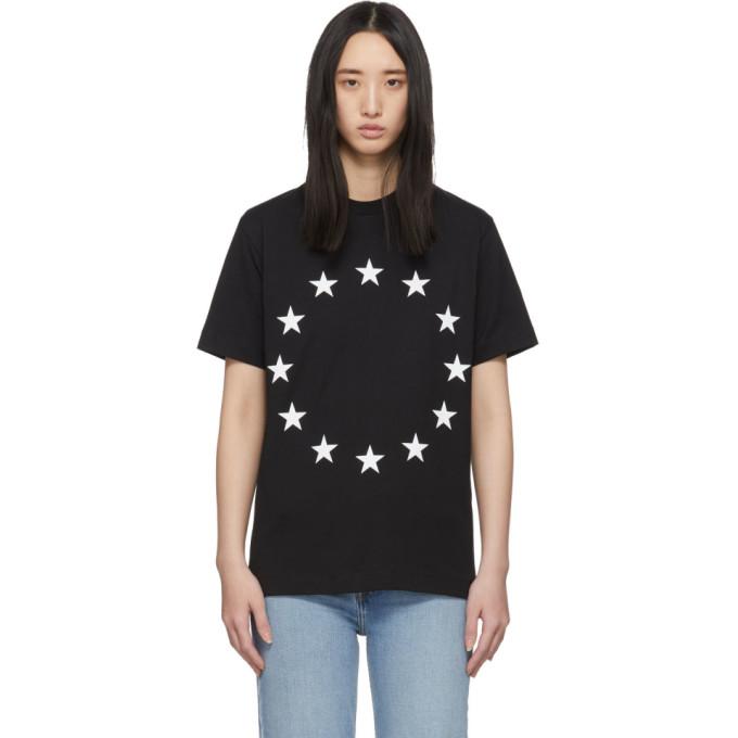 Etudes T-shirt noir Wonder Europa