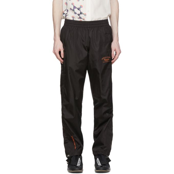 Filling Pieces Pantalon de survetement noir Wide-Fit