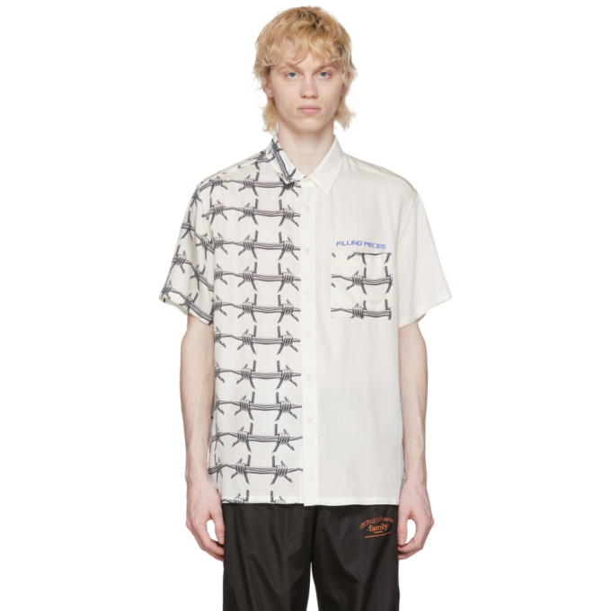 Filling Pieces Chemise blanche Barb Wire Resort