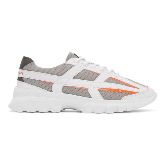 Filling Pieces Grey FP Reaf Sneakers - 44928171932